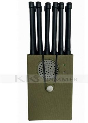 10 Antennas Handheld Jammer