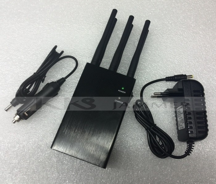 6 Antennas Handheld Jammer