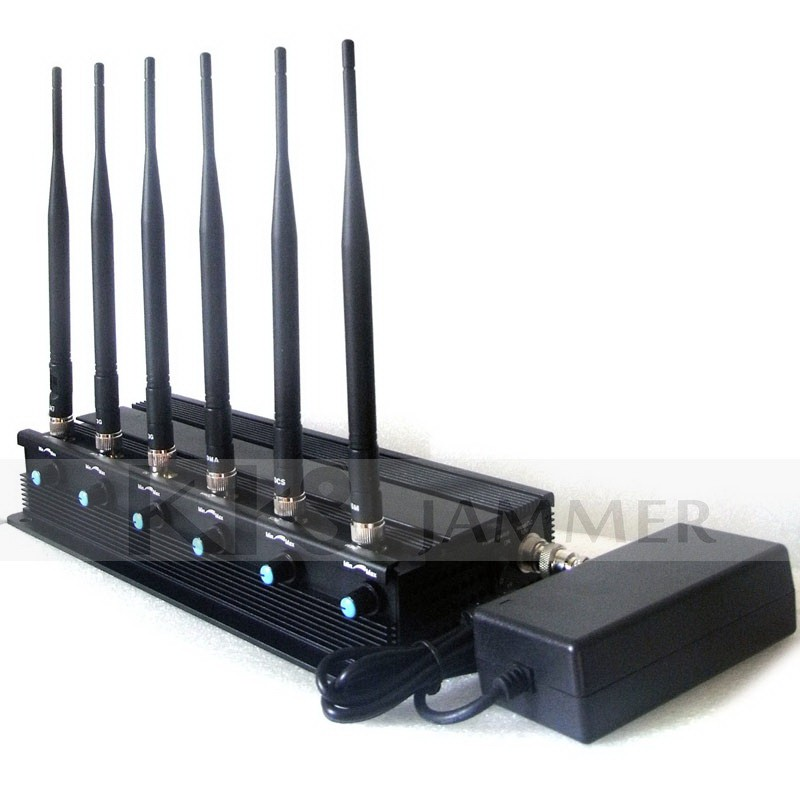 6 Antennas Blocker - 6 Antennas VHF Jamming