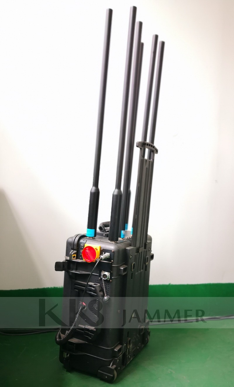 High Power Digital Portable Bomb Jammer